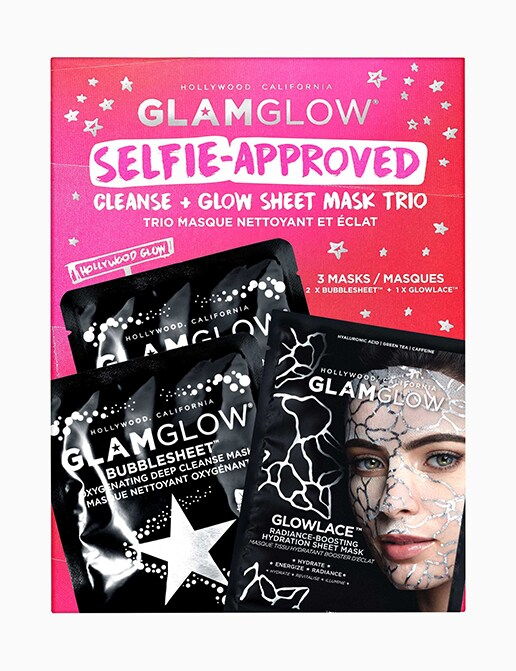 SELFIE-APPROVED SHEET MASK TRIO SET